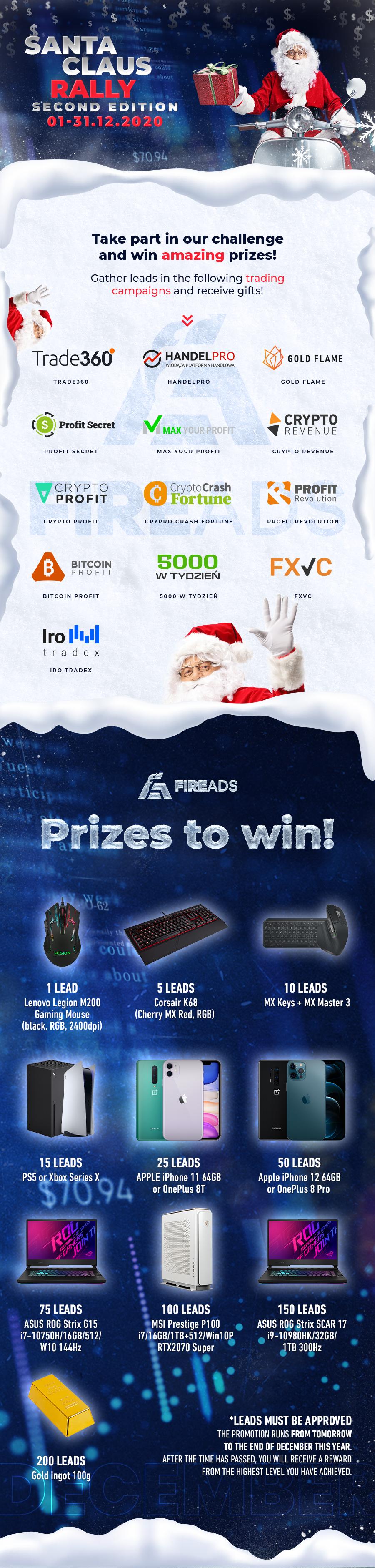 Santa Claus Raid FireAds Competition - Rules