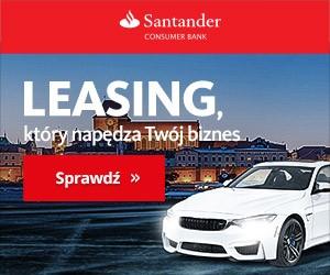Baner Santander kredyt samochodowy